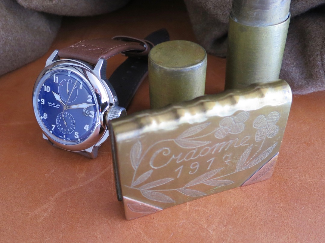 WALTHAM Field and Marine by Watch Angels. A tribute to WW1 trench watches