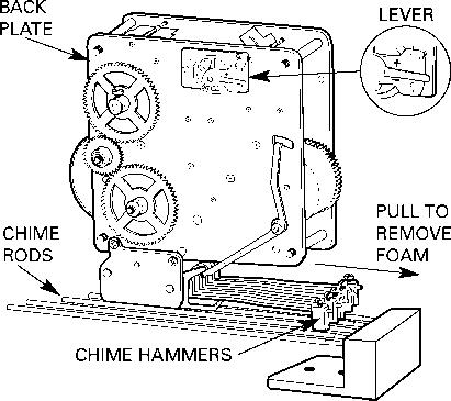 Howard miller mantel clock model 612 374