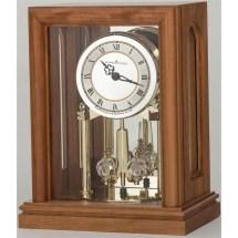 Crystal Seville Mantel Clock With Revolving Pendulum