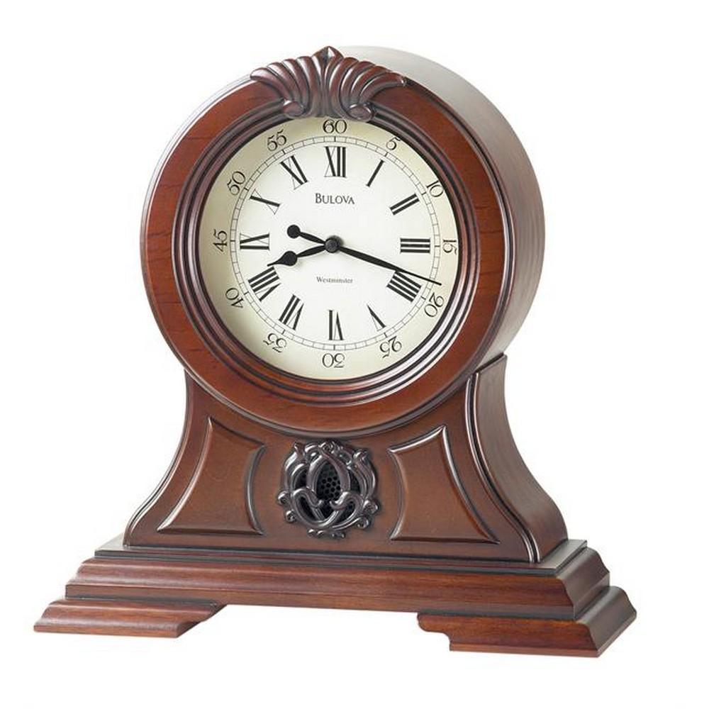 Bulova Marlborough Decorative Mantel Clock Model B1998