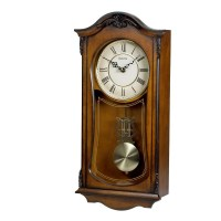 Chiming Wall Clock With Westminster Chime Bulova Cranbrook ...