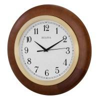 Wall Clocks - Bulova Zeypher Wall Clock C4219
