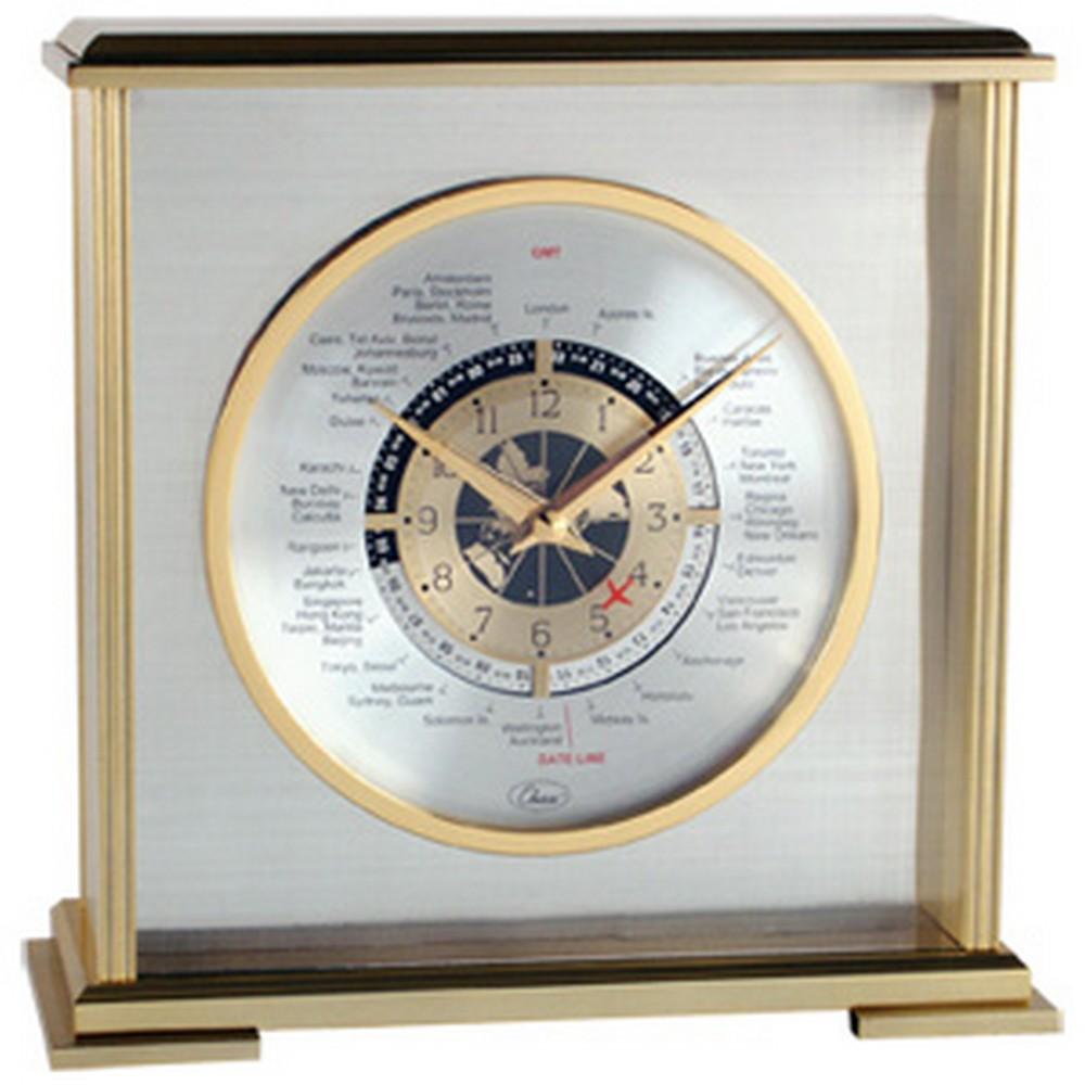 Aviator World Time Clock 63897