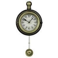 Harmen Decorative Wall Clock Cooper Classics 40729