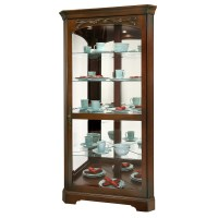 Howard Miller Tessa Corner Curio Display Cabinet 680605