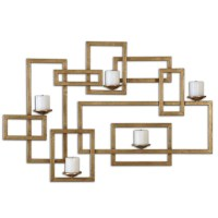 Home Accessories | Brighton Gold Wall Sconce | 12871