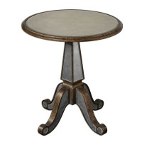 Accent Furniture - Uttermost Eraman Mirrored Accent Table ...