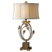 Lamps - Uttermost Alenya Gold Table Lamp 26337-1