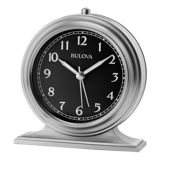 Bedside Alarm Clock - Benjamin Bulova B2025