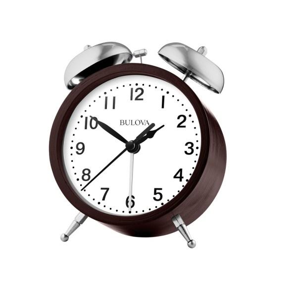 Super Bell Bedside Alarm Clock - Bulova B5026