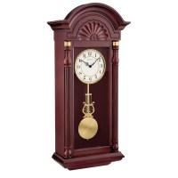 Bulova New Yorker Chiming Pendulum Wall Clock C1516