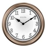 "Indoor / Outdoor Wall Clock - Bulova 14"" Light Time C4826"