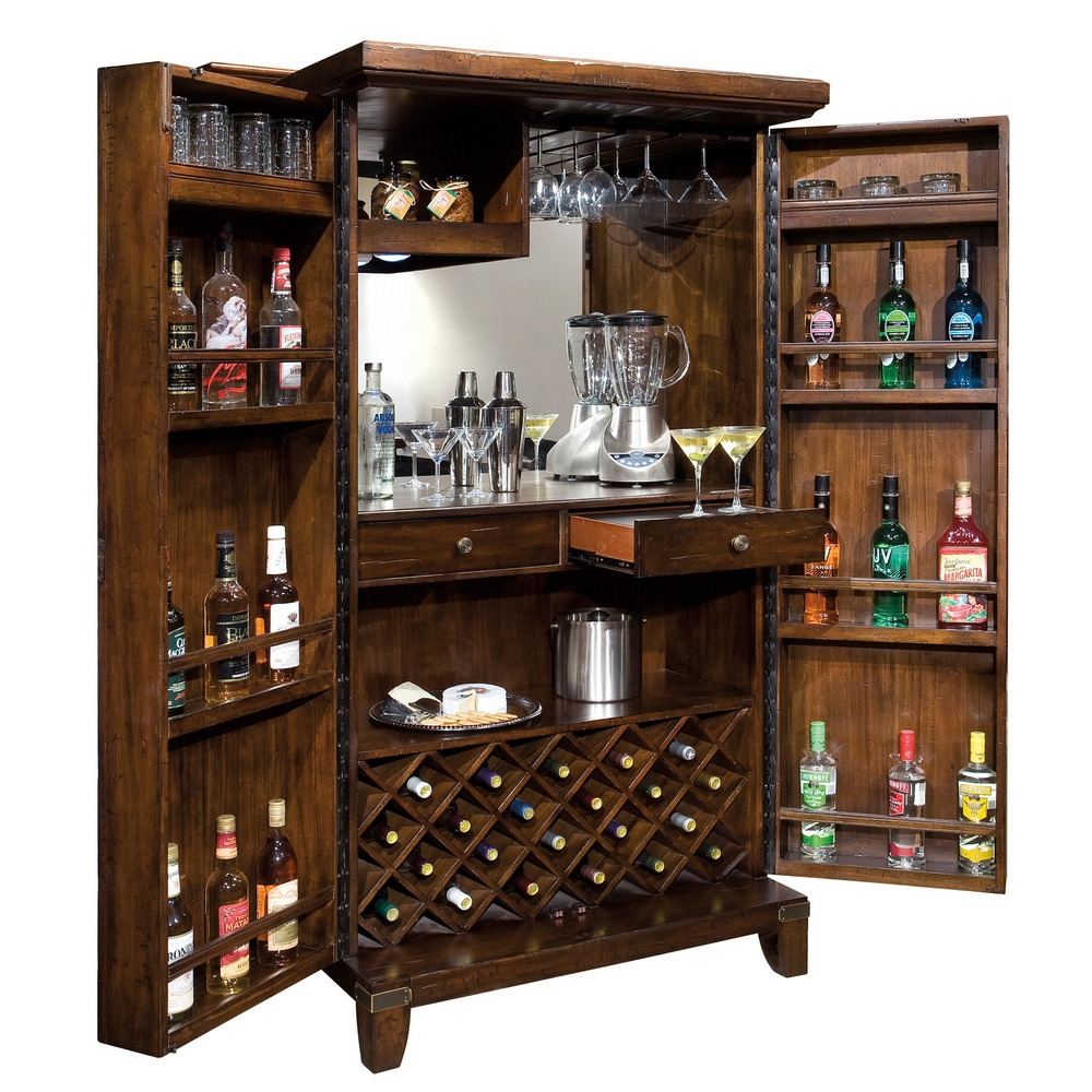 Home Bar  Wine Cabinet Howard Miller Rogue Valley 695122