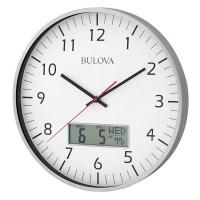 Manager Office Wall Clock Bulova C4810 | ClockShops.com