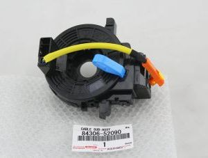 New genuine Toyota airbag clock spring part number 84306-52090 / 8430652090 to fit Ractis vehicles.