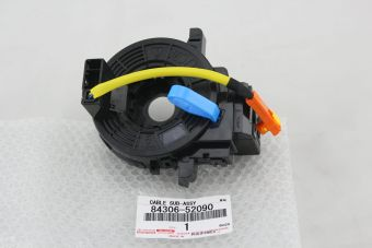 New genuine Toyota clock spring part number 84306-52090 / 8430652090 to fit Rukus vehicles.