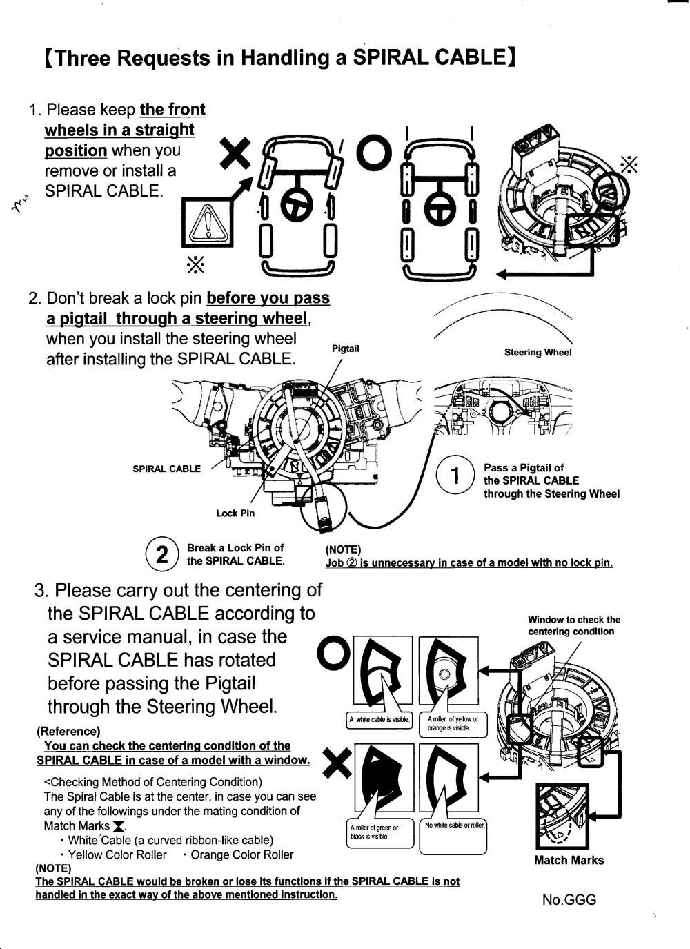 medium resolution of fitting a clock spring