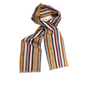 Autumn Silk Tasar Scarf