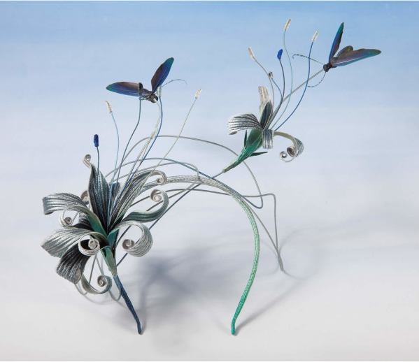 Lily Moth headpiece
