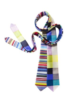 Limited edition silk ties