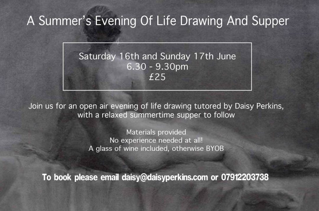 Life drawing and supper