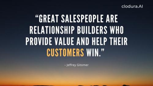 sales thought for the day