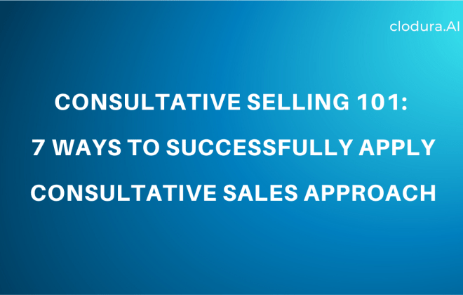 consultative selling techniques
