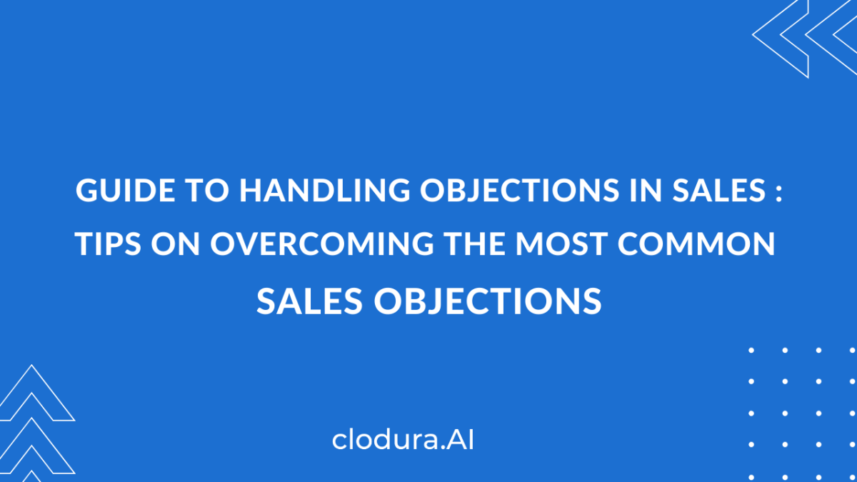 sales objection