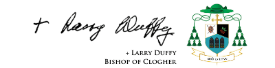 + Larry Duffy Bishop of Clogher