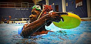 SKWIM player at Brashear, SDA16