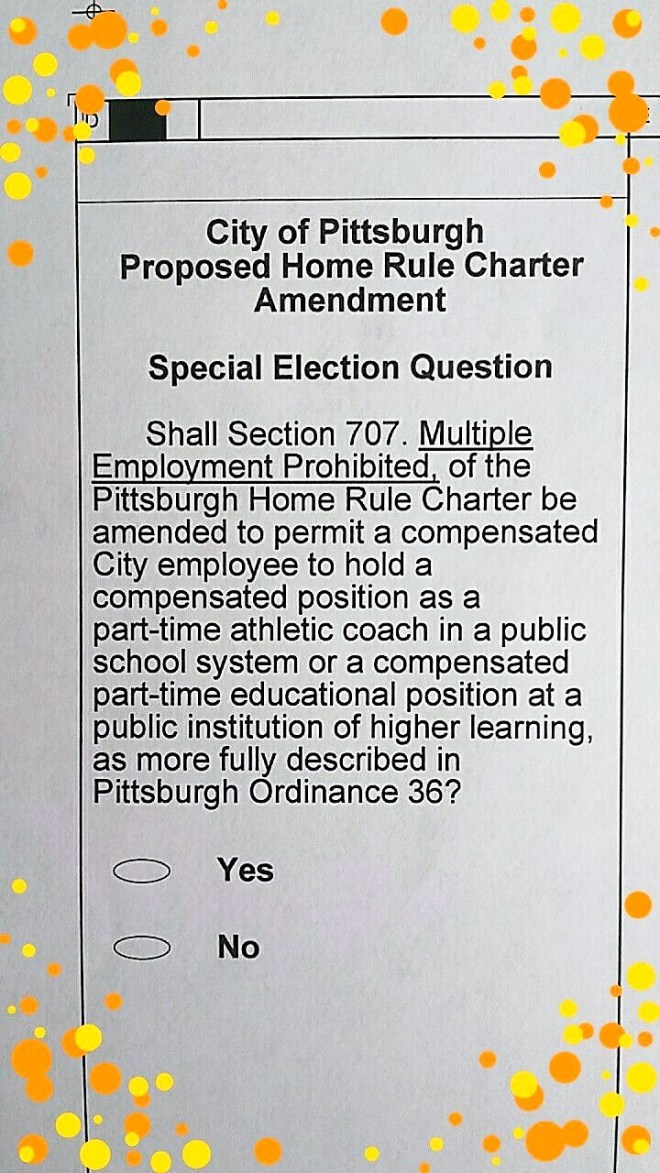 ballot question