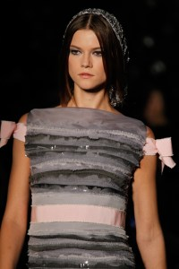 Chanel gown detail