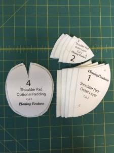 Shoulder Pad Pattern