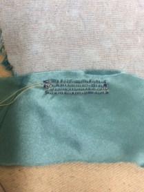 Machine buttonholes
