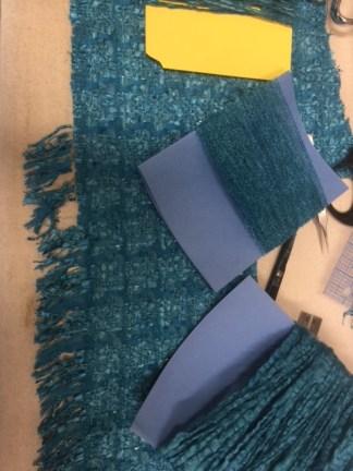 Unweaving yarns