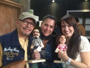 Mauricio Castillo y Gaby Platas