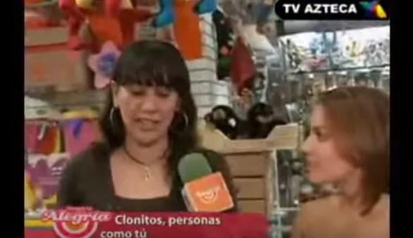 Clonitos en TV Azteca con Tabata Jalil 2010