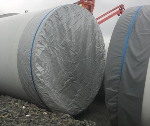 Wind Turbine Cover,Wind turbine Section cover