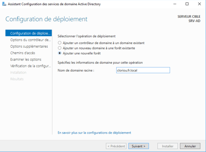 Installation Active Directory - 16