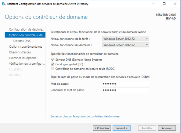 Installation Active Directory - 17