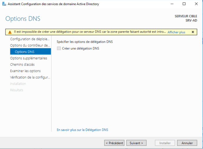 Installation Active Directory - 18