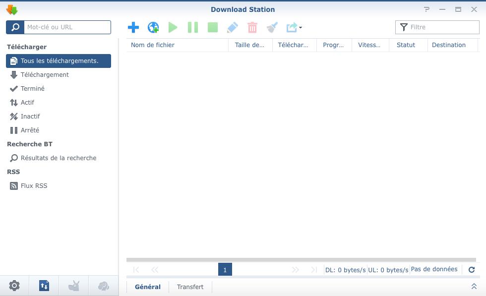 Télécharger sur 1Fichier avec Download Station - cloriou fr