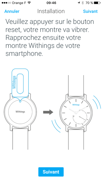 Reset Withings