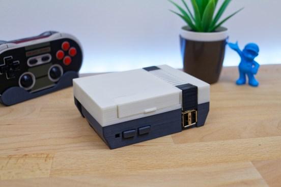NES Mini Imprimée en 3D