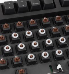 a few o rings installed on a mechanical keyboard  [ 1108 x 780 Pixel ]