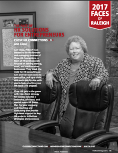 2017 Faces of Raleigh Midtown Magazine
