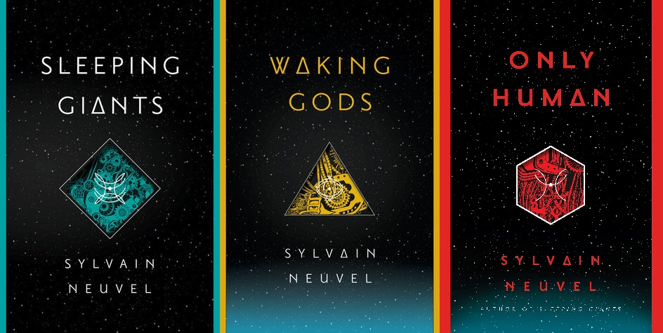 Themis Files Trilogy (Sleeping Giants, Waking Gods, Only Human) by Sylvain  Neuvel - Close Minded Podcast