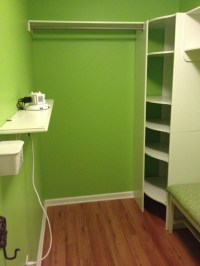 lime green room | Closer to Lola
