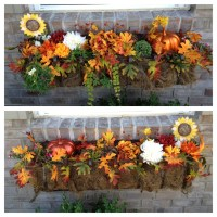 Fall window boxes | Closer to Lola