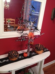 Dining Serving Table Halloween Table Scape